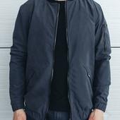 Бомбер, осенняя мужская куртка. Непромокаемая, ветронепроницаемая