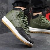 Ботинки мужские Nike Lunar air Force LF1 black/green