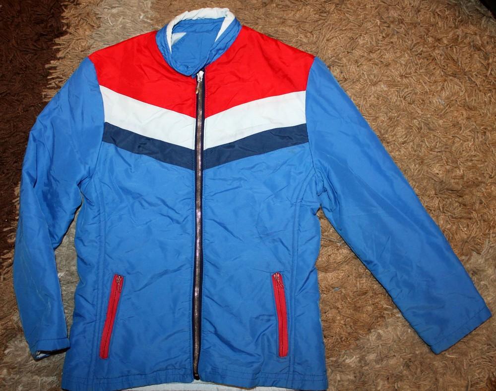 Куртка деми на девочку 140 р фото №1