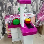 Кухня Super Cook 889-59-60 (свет, звук, вода), розовая