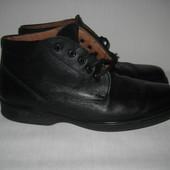 Кожаные ботинки 45р 29,5см