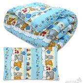 Одеяло подушка комплект Детский. Разные цвета.