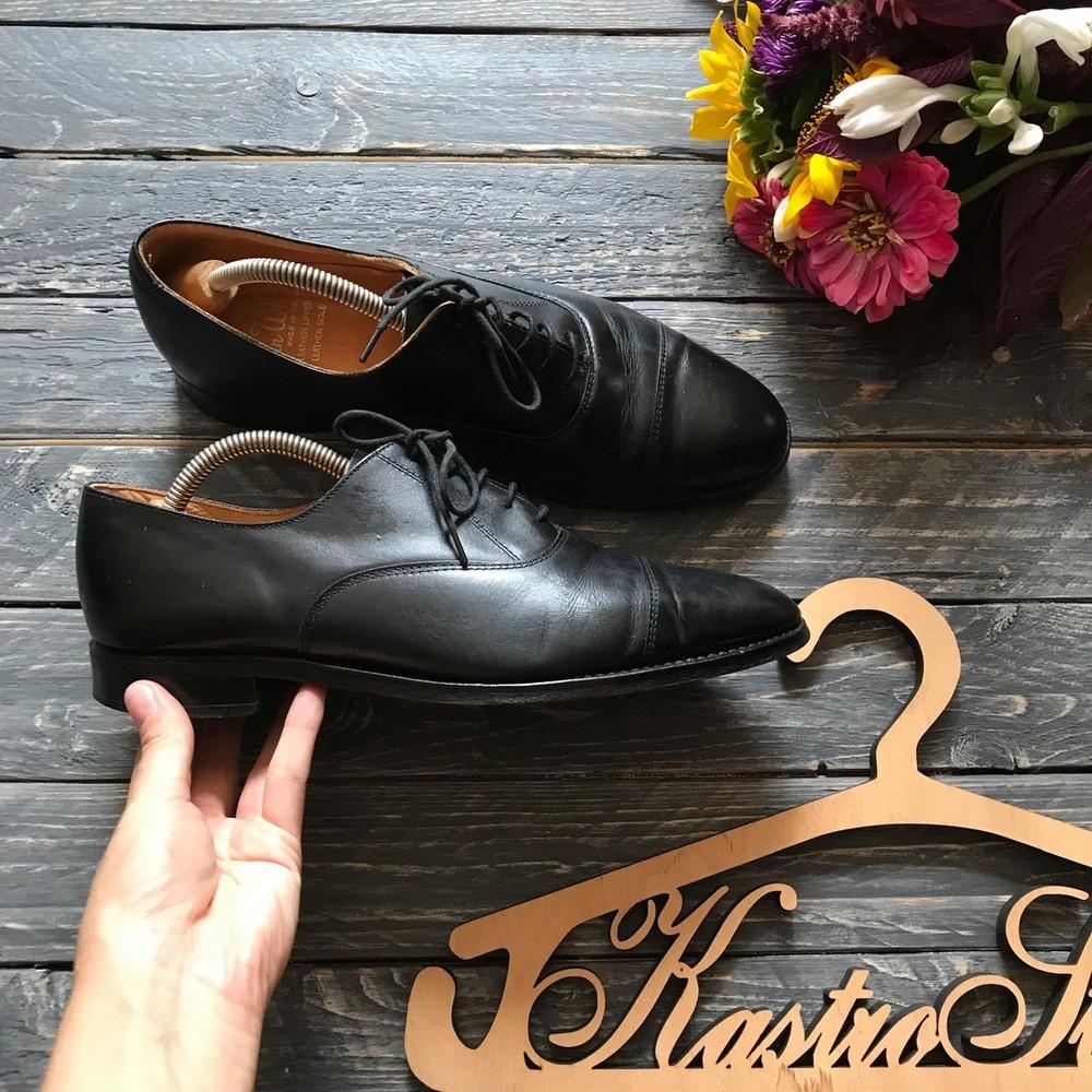 Кожаные туфли оксфорды John White р-р 40 фото №1