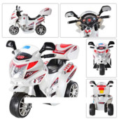 Детский мотоцикл Subaki М 0567-1 белый