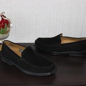 42 28см Geox Замшевые мокасины туфли