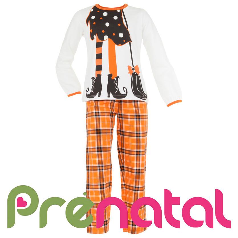 Піжами теплі halloween для дівчат 1-6 років від фірми prenatal італія фото №1