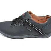Кроссовки мужские кожа Clubshoes Control Style