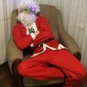 Новогодний костюм Деда мороза р. 52-54