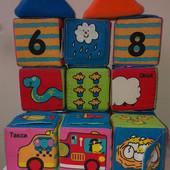 кубики мягкие Ks Kids 12 шт