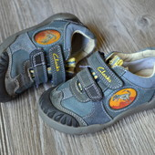 Ботинки, кроссовки Clarks кожа (24F размер)