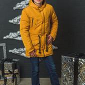 Зимняя мужская куртка парка с 44-60 р-ры
