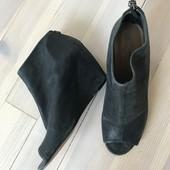 Кожаные ботинки полуботинки сапожки Nine West, размер 40/41