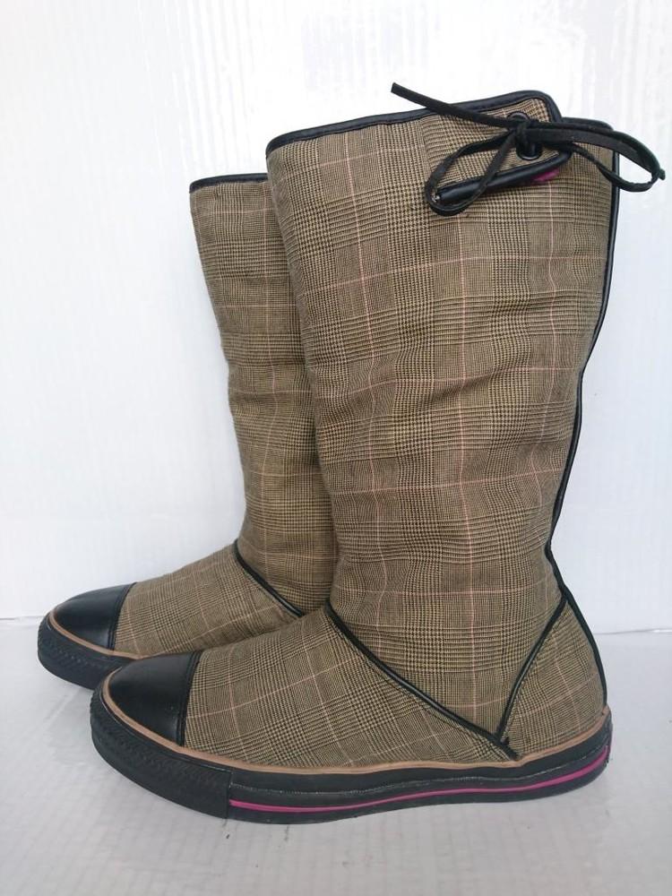 Новые деми кеды ботинки на 40р Converse Оригинал фото №1