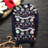 Мужской новогодний свитер Cedar wood state р-р Хс-С
