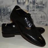 кожаные туфли 29.5 см