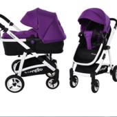Универсальная коляска-трансформер 2в1 carrello Fortuna crl-9001 Purple