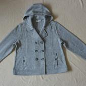 Теплая стильная трикотажная куртка пиджак cato из сша