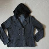 Теплая стильная трикотажная куртка пиджак Cato из США!