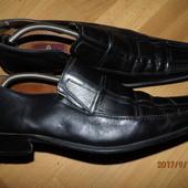 (i99)фирменные кожаные туфли 44 р Kundura