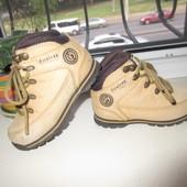 Кожаные деми ботинки Firetrap 24 р