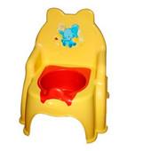 Горшок детский №2 желтый, арт. 013317-1