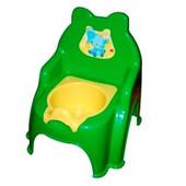 Горшок детский №2 зеленый, арт. 013317-1