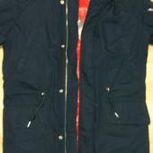 Куртка синяя зимняя размер L