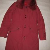 160-165 рост, зимнее пуховое пальто пуховик Snow Image