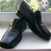 Туфли мужские натуральная кожа Marks&Spencer р.42