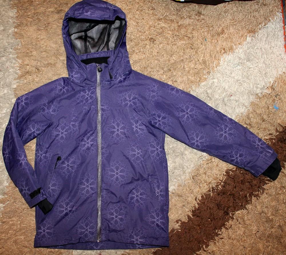 Куртка деми на девочку 128 р фото №1