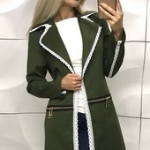 Элегантный женский пиджак-кардиган
