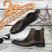 Мужские кожаные ботинки-челси Asos с высоким голенищем  SH3789