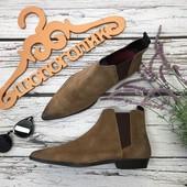 Мужские замшевые ботинки-челси Asos с острым носком  SH37112