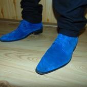 Стильние фирменние замшевие ботинки сапоги Triore Italy.43