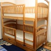 Двухъярусная кровать Карина Люкс HD. Высокое качество.