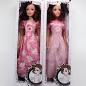 Кукла музыкальная в бальном платье, высота 81 см., 2 вида, в коробке 22,0*11,0*78,0 см