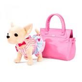 Собачка  Кикки, 25см, звук(укр), в сумке,на бат-ке.