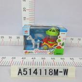 Музыкальная игрушка Карета на батарейках, свет, в коробке 22,0*14,5*10,0см  Оптовая цена: $3,99