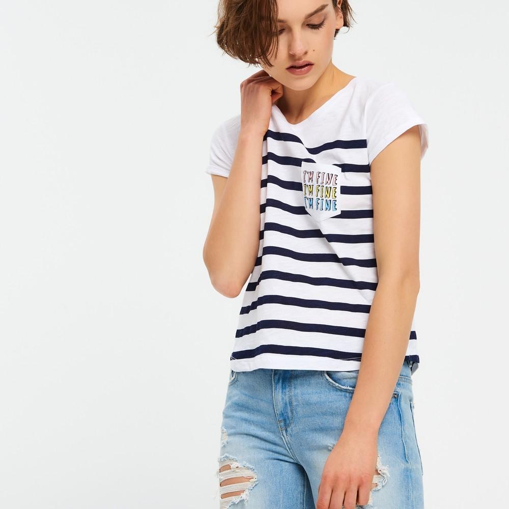6a32c99a01bc0b 17-16 женская футболка cropp, цена 186 грн - купить Футболки и майки ...