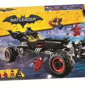Конструктор Bela Бэтмобиль 10634 610деталей аналог lego the batman Movie 70905 бэтмен
