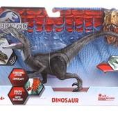 Динозавр Jurassic World Велоцираптор velociraptor  от Shantou двигаются  лапы и хвост звук свет