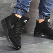 Зимние высокие кроссовки Nike Air Max 87 black