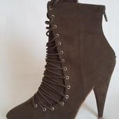 Новые ботинки ,ботильоны фирмы Shoe Box ( Англия) р. 38 стелька 24,7 см