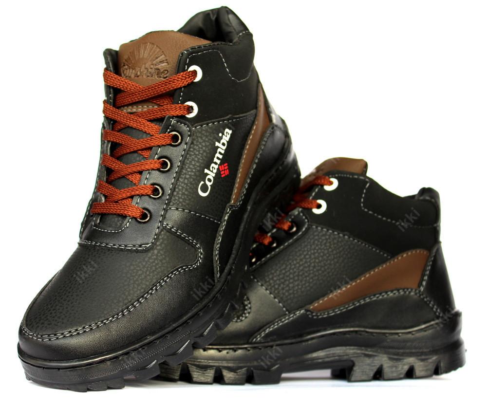 Ботинки зимние мужские теплые и удобные (сб-8чкн) фото №1