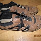 (i178)фирменные кожаные мокасины 44 р TCM