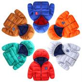 Пуховик Спортивный однотон демисезонная куртка 510074, 510091 промо курточка куртки