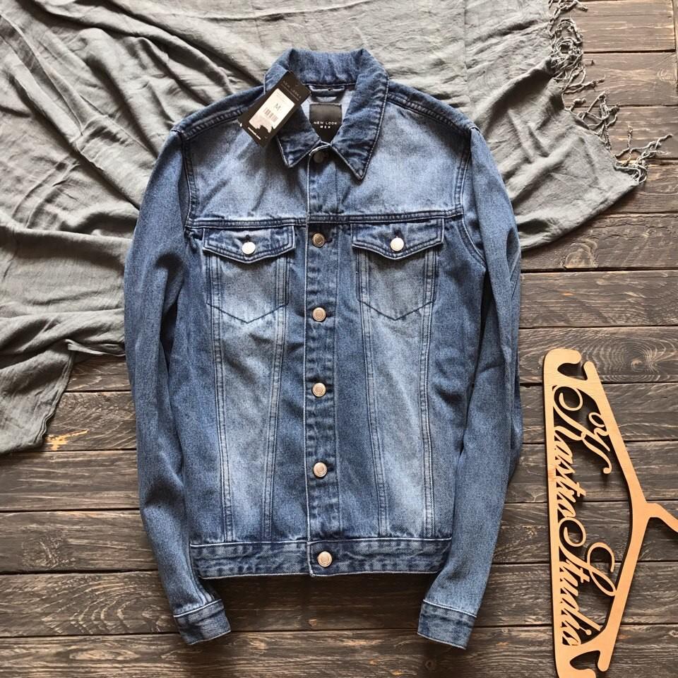 Новая мужская джинсовая куртка New Look р-р М фото №1