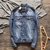 Новая мужская джинсовая куртка New Look р-р М