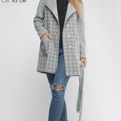 (519) Женское Пальто Бриджит Серый