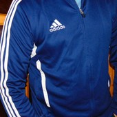 Спортивная фирменная мастерка кофта Adidas м-л .